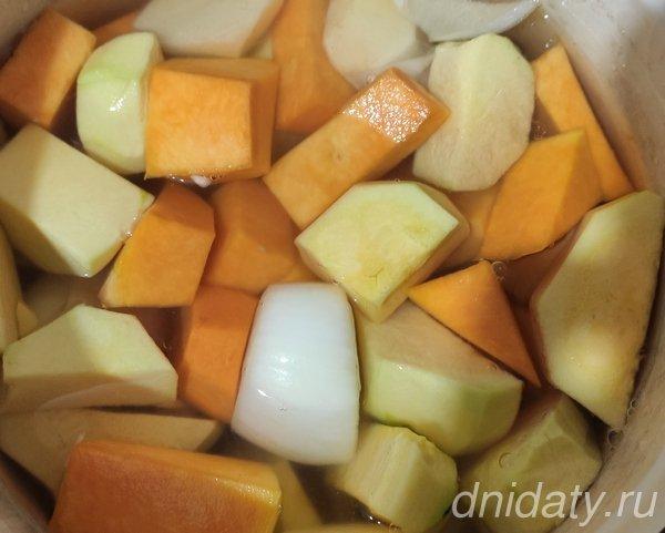 Тыквенный суп-пюре: классический простой пошаговый рецепт
